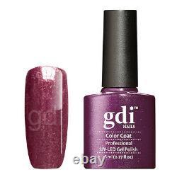 Gdi Fine Glitter/shimmer Range R23 Grape Buste Uv/led Gel Vernis À Ongles