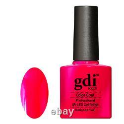 Gdi Nails Neon Range N07-hot Diva Uv/led Soak Off Gel Nail Polonais. Marque Du Royaume-uni