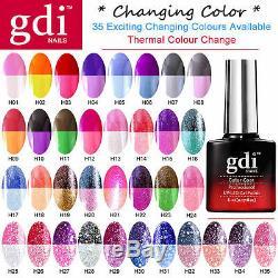 Gdi Nails Uk Promotions En Gros Uv / Led Changement De Couleur Vernis À Ongles En Gel