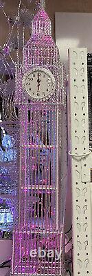 Grande Grande Grande Couleur De Led De Ben Changeant L'horloge De Tour 134cm