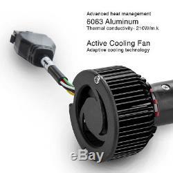 H13 2in1 Led Phares Ampoules Couleur Changeante Oeil Du Diable Pour Projecteur + Réflecteur