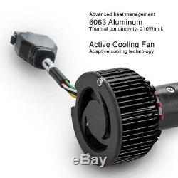 H4 2in1 Led Phares Ampoules Couleur Changeante Oeil Du Diable Pour Projecteur + Réflecteur