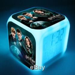 Harry Potter Film Led 7 Changer La Couleur Réveil Télé Écolo Cadeaux De Noël Ol