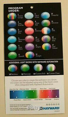 Hayward Colorlogic 12v Led Couleur Changer La Lumière De La Piscine Lpcus 11100 Peut Avoir Besoin De Travail