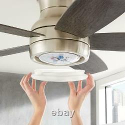 Hdc Ashby Park 52 Changement De Couleur Ventilateur De Plafond Led Intégré Avec Lumière Et Télécommande