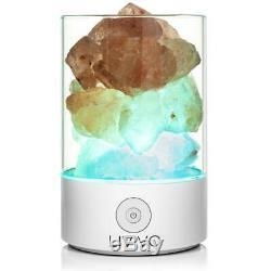 Himalaya Naturel Changeant De Couleur Sel Lampe Lampe Électrique Home Decor Ioniser