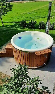 Hot Tub Deluxe Fibre De Verre 316ansi Chauffage Jacuzz&bubbles D'air Systèmes Led's Spa