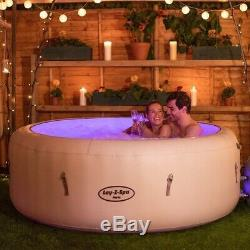 Hot Tub Spa Paresseux Paris Led, 6 Personne, Haut De Cette Gamme