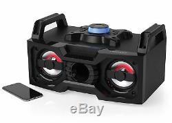 Intempo Ee1834 Haut-parleur De Soirée Portable Bluetooth Avec Éclairage Del À Changement De Couleur