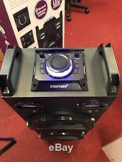 Intempo Ee2383stk Haut-parleur Bluetooth Rechargeable Partie Changeant De Couleur Ligths