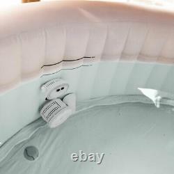 Intex 28409e Gonflable 6 Personnes Hot Tub Spa Avec 2 Led Lumières De Changement De Couleur