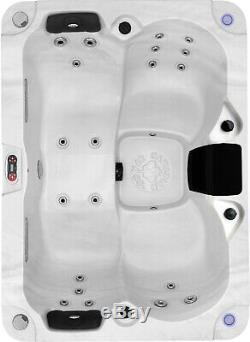 Kelowna 20 Jet 3-4 Personnes Plug & Play Acrylique Spa Led, 2 Chute D'eau, Et L'ozone