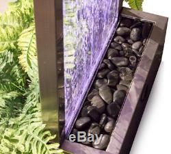 La Couleur Changeante De Planteur De Mur De L'eau De Bulle Led Allume 6ft 184cm D'intérieur Extérieur
