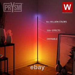 La Lampe Led Rgb Moderne Prysm Angle Lampadaire Led Bande Pour La Chambre