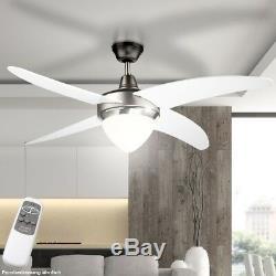 Lampe De Plafond À Led Rvb, Éclairage De Ventilateur À Intensité Réglable
