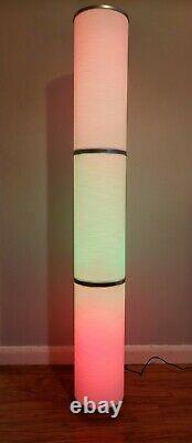 Lampe De Plancher Led Intelligente Légère, Éclairage D'humeur, Couleur Wifi 138cm Custom Vidja