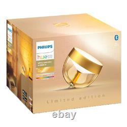 Lampe De Table Philips Hue Iris (gold Limited Edition) Ambiance Blanche Et Couleur