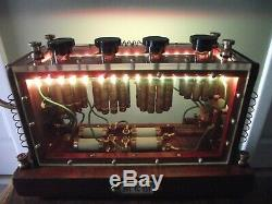 Lampe De Table Upcycled. Éclairage Led Alimentés Par Usb Ainsi Que Edison E27