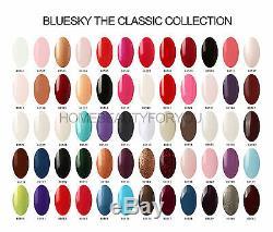 Lampe Led Bluesky Kit De Démarrage B Supérieure Et De Base + 10 Bluesky Gels Ongles