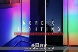 Lampe Led D'angle Nordique Moderne Et Minimaliste Économie De L'espace Lampadaire Lumière Permanent
