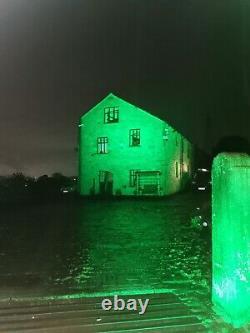 Lanta Aurora 12 Tv3n Led Par Rgb Ip66 Couleur Changeant Inondation Externe Avec 13a Ca