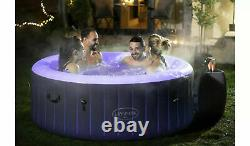 Lay Z Spa Bali 2-4 Personne Led Hot Tub 2021 Modèle En Stock 2 Ans Garantie