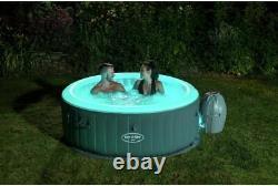 Lay Z Spa Bali Led 2021 Modèle Lazy Spa Hot Tub Uk Plug & Garantie