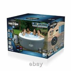 Lay Z Spa Bali Led 2021 Modèle Lazy Spa Hot Tub Uk Plug & Garantie Inclus