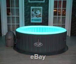 Lay Z Spa Lazy Spa Bali Airjet Avec Brand New Hot Tub De Led