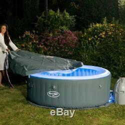 Lay Z Spa Lazy Spa Bali Airjet Avec Brand New Hot Tub Free De Livraison Led