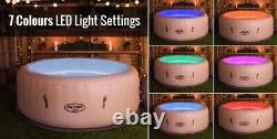 Lay Z Spa Paris Hot Tub 4-6 Personled Lights2021 Modelpre-order 26-4-21