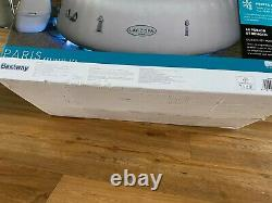 Lay Z Spa Paris Luxury Inflatable Hot Tub (4-6 Personnes) Avec Des Lumières Led Gratuites P & P