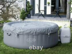 Lay-z-spa Bali 4 Personne Led Hot Tub Lazy Spa 2021 Modèle Flambant Neuf