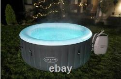 Lay-z-spa Bali 4 Personnes Led Hot Tub Lazy Spa 2021 Modèle Neuf 1 Jour