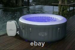 Lay-z-spa Bali 4 Personnes Led Hot Tub Lazy Spa 2021 Modèle Nouveau