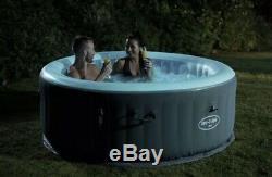 Lay-z-spa Bali Led 4 Adultes Et Bain À Remous New Boxed Lazy Spa Bain À Remous