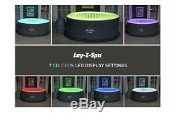 Lay-z-spa Bali Led Airjet Gonflable Hot Jacuzzi Brand New Next Day Livrer