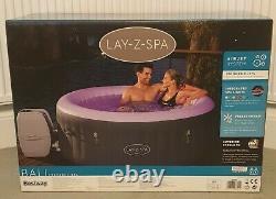 Lay-z-spa Bali Led Lights 4 Adult Hot Tub Flambant Neuf- Livraison Gratuite Rapide