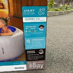 Lay-z-spa Lazy Paris 6 Personne Hot Tub Jacuzzi Led Lights Toute Nouvelle Livraison Gratuite