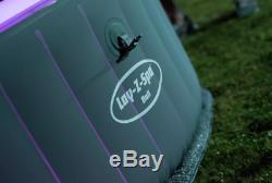 Lazy Lay-z-spa Bali 2-4 Personnes Led Spa Tout Neuf Dans La Main Expedition 24h