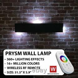 Le Prysm Electra Rgb Wall Lamp Led Color Changing Lamp Led Lights For Room