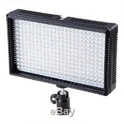 Led 312 Dslr Appareil Photo Et Caméscope Video Light 312as Dimmable Led Variable