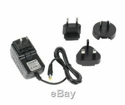 Led Changeant De Couleur De La Lampe D'éclairage D'angle Rvb Mood Noir Avec Télécommande