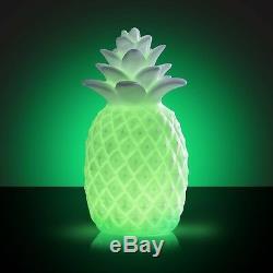 Led Changeant De Couleur Pineapple Lumière Éclairage D'ambiance Lampe De Table Uk Produit Vendeur