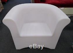 Led En Plastique Couleur Changement Commercial Canapé, Fauteuil, Table Cs H64