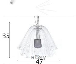 Led Fibre Optique Lumière Colorée Multi Couleurs Changeantes Méduse Lampe D'extérieur Accueil