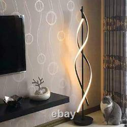 Led Lampadaire Dimmable Télécommande Moderne Grand Éclairage Salon Chambre