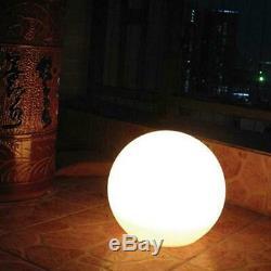 Led Rechargeable Floating Glow Boule De Lumière De La Lampe 35cm Couleur Changeante Lune Orbe