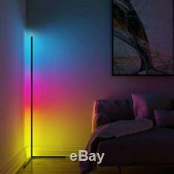 Led Rgb Lampe D'angle Changeant De Couleur Éclairage D'ambiance À Distance Ou App Contrôlée
