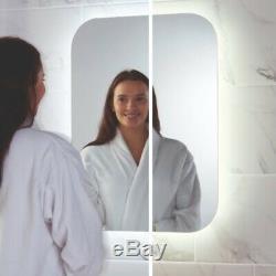 Led Salle De Bains Miroir Antibuée Pad Rasoir Prise De Changement De Couleur 600mm X 800mm Secteur